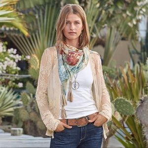 Sundance Journey Begins Lace Jacket